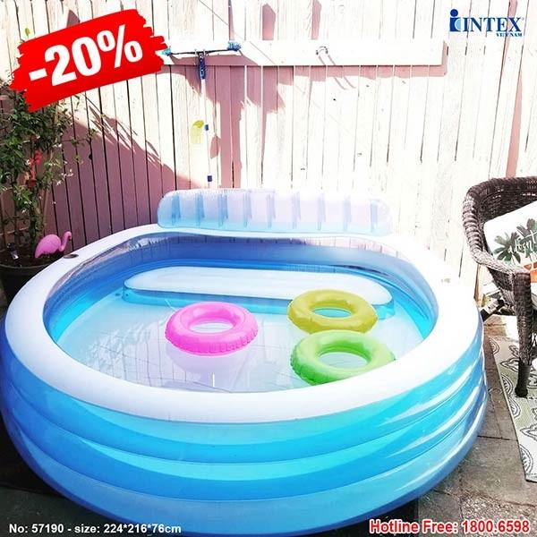 Bể bơi phao gia đình INTEX 57190