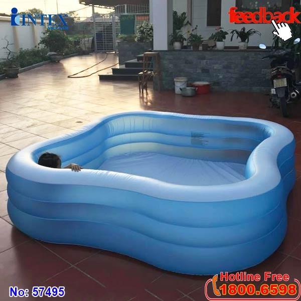 Hồ bơi phao gia đình Intex 57495