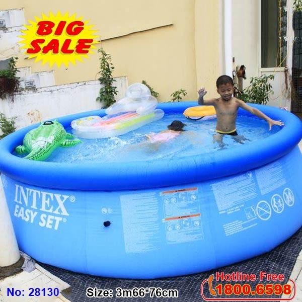 Bể bơi phao cổ bơm hơi INTEX 28130