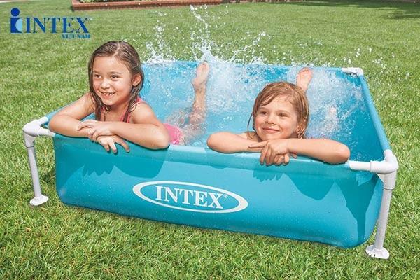 bể bơi khung kim loại mini INTEX 57173
