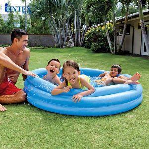 Bể phao bơi  3 tầng cho bé 1m47 INTEX 58426