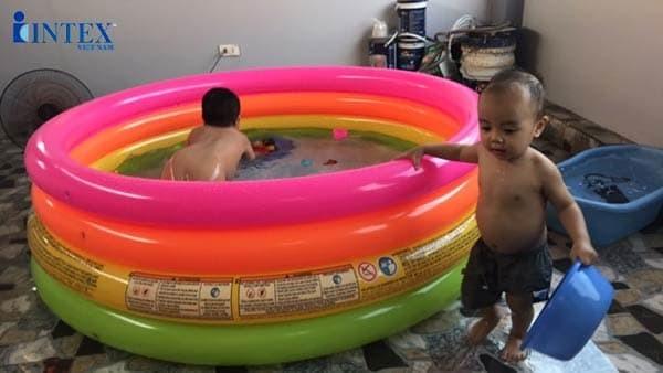 Bể bơi phao cầu vồng INTEX 56441