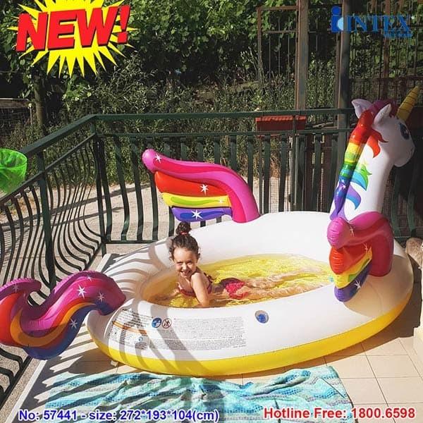 Hồ bơi phao cho bé ngựa thần INTEX 57441