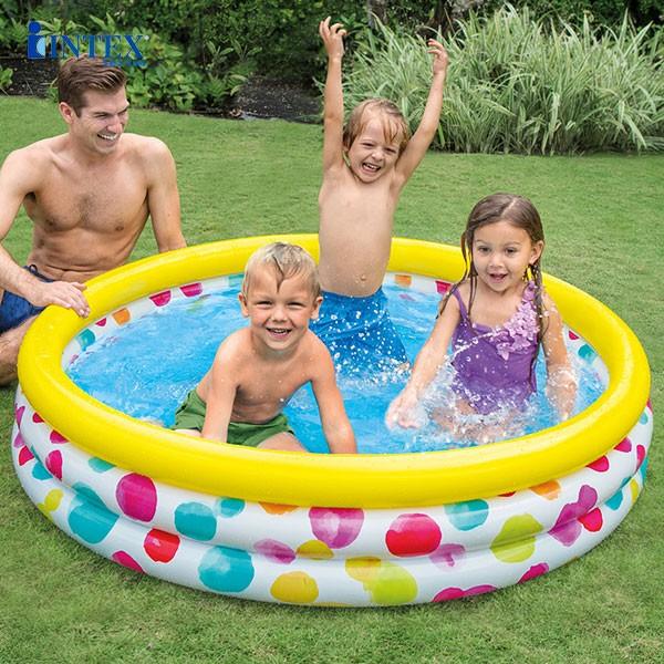 hồ bơi phao sắc màu cho bé INTEX 58449