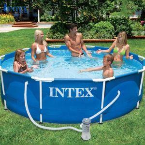 Hồ bơi di động tròn có máy lọc nước 3m05 INTEX 28202