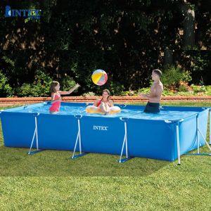 Hồ bơi khung kim loại chữ nhật INTEX 28273