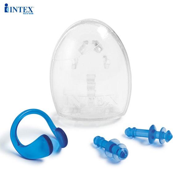 Bộ bịt tai và kẹp mũi intex 55609