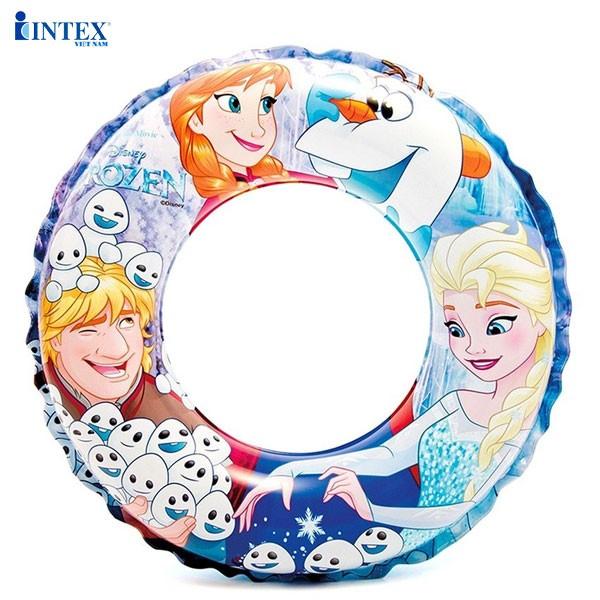Phao vòng 51cm Nữ hoàng băng giá INTEX 56201