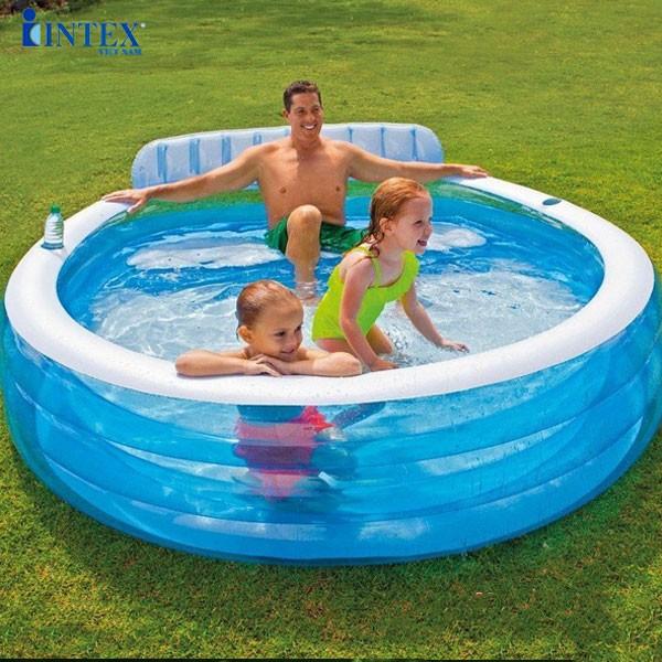 Bể bơi phao gia đình có ghế ngồi INTEX 57190