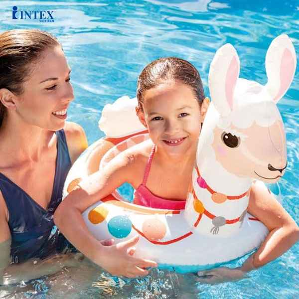 Phao bơi cho bé hình thú vòng INTEX 58221