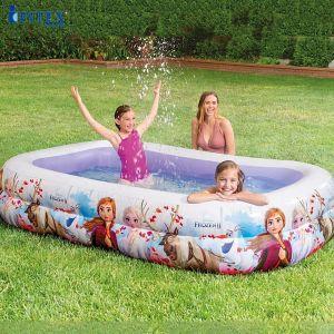 Bể bơi phao cho bé hình nữ hoàng băng giá Frozen Intex 58469