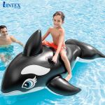 Phao bơi cá voi đen cỡ lớn INTEX 58561