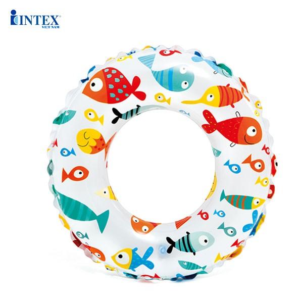 Phao bơi hoa trong suốt 51cm INTEX 59230