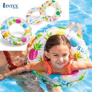 Phao bơi hoa trong suốt INTEX 59230