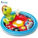 Phao bơi cho bé xỏ chân hình thú INTEX 59570