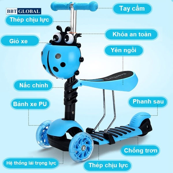 sk1305-xe-truot-scooter-cho-be-2-trong-1-bbt-global-xanh-1