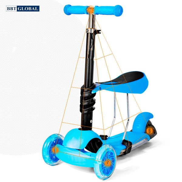 sk1305-xe-truot-scooter-cho-be-2-trong-1-bbt-global-xanh-8