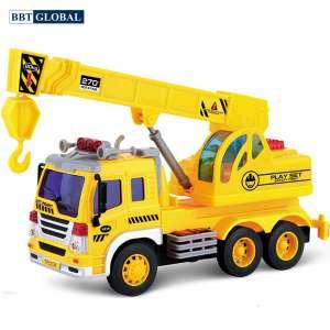 Mô hình đồ chơi xe cần cẩu cỡ lớn có đèn và nhạc WY305S