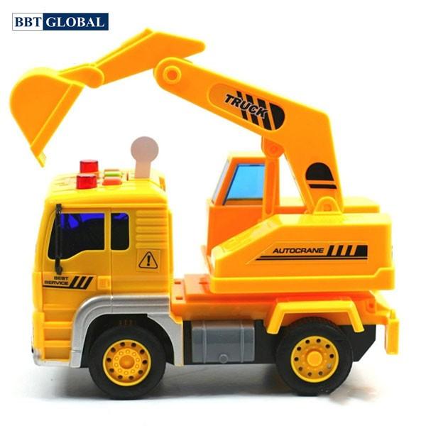 Mô hình đồ chơi xe cần cẩu có đèn và nhạc mẫu mới WY510C
