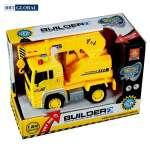 Mô hình đồ chơi xe cần cẩu có đèn và nhạc mẫu mới WY510D