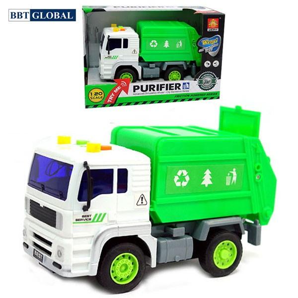 Mô hình đồ chơi xe môi trường có đèn và nhạc mẫu mới WY520A