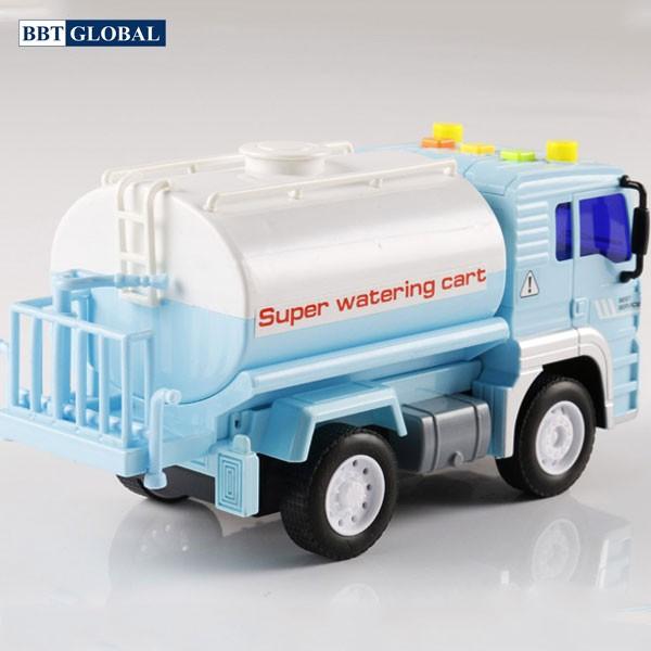 Mô hình đồ chơi xe chở nước có đèn và nhạc mẫu mới WY530A