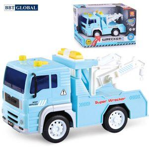 Mô hình đồ chơi xe cứu hộ có đèn và nhạc mẫu mới WY530B
