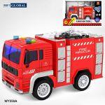 Mô hình đồ chơi xe cứu hỏa có đèn và nhạc mẫu mới WY550A