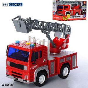 Mô hình đồ chơi xe cứu hỏa có đèn và nhạc mẫu mới WY550B