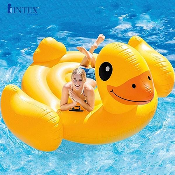 phao bơi vịt vàng khổng lồ