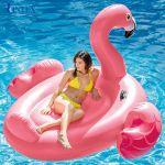 Phao bơi hồng hạc khổng lồ INTEX 57288