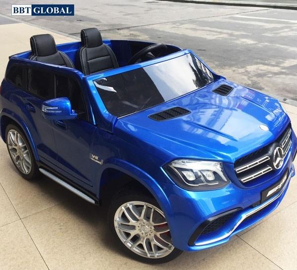 Xe ô tô điện trẻ em Mercedes GLS 63 AMG | Màu xanh