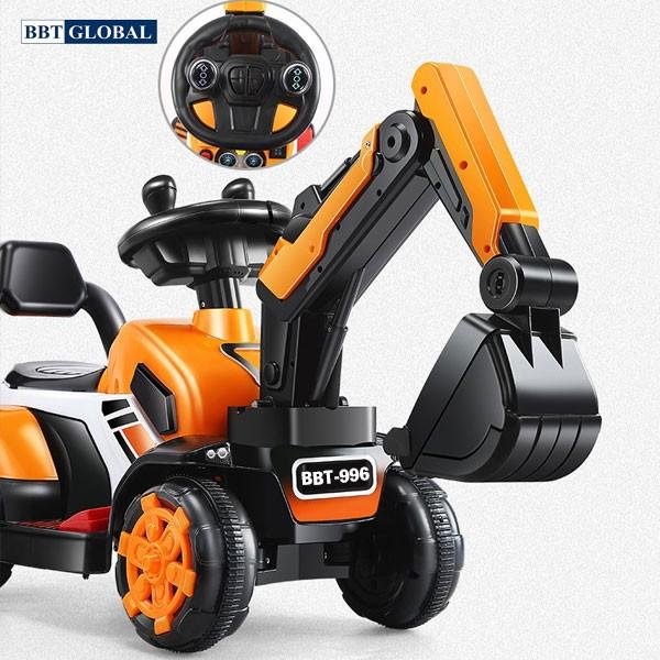Xe ô tô cần cẩu điện trẻ em BBT-996