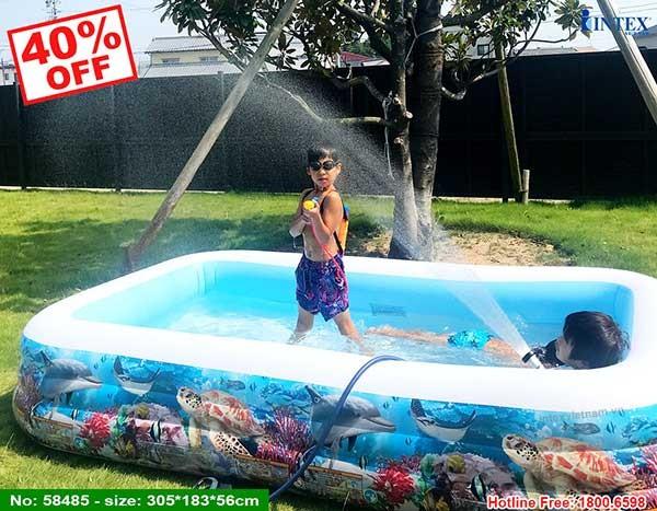 bể bơi di động intex