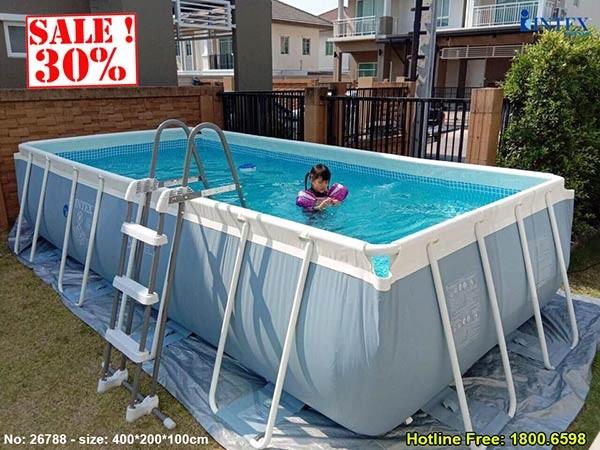 bể bơi khung kim loại INTEX 26788