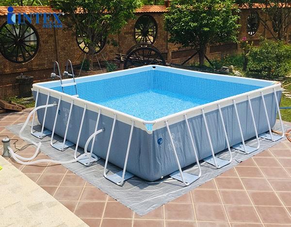 hồ bơi khung kim loại vuông INTEX 26764
