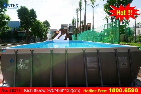 bể bơi khung kim loại INTEX 26378
