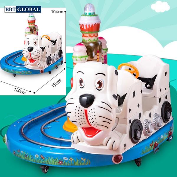 Tàu hỏa điện 2 chỗ hình chú chó DQ-5011