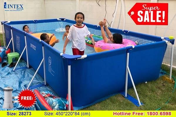 Hồ bơi khung kim loại INTEX 28273