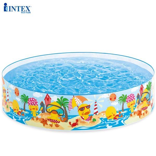 Bể bơi lắp dựng cho bé 1m22 INTEX 58477