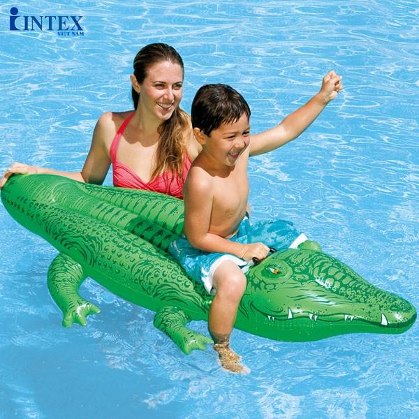 phao bơi cho bé hình cá sấu
