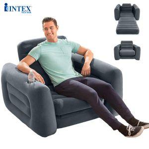 Ghế giường hơi đơn đa năng công nghệ mới INTEX 66551