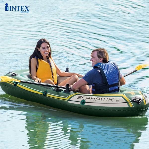 Thuyền bơm hơi INTEX 68347 - Thuyền Seahawk 2 người