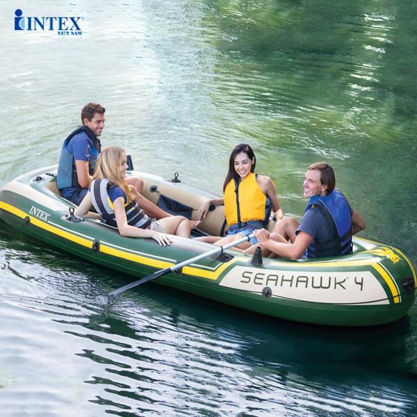 Thuyền hơi Intex - Tiện lợi, tiết kiệm và an toàn