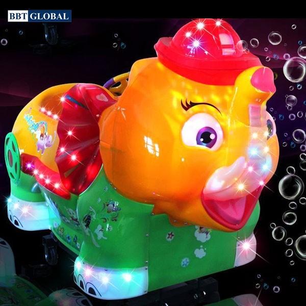 Nhún điện nhập khẩu voi phun bong bóng NDNK-1042