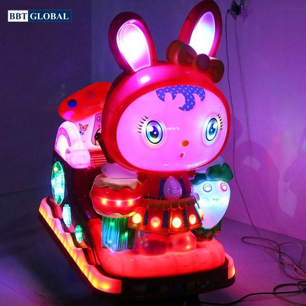 Nhún điện nhập khẩu em bé thỏ nhỏ NDNK-1048