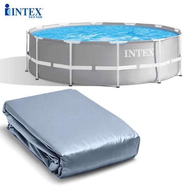 Phụ kiện INTEX - Vỏ bể kim loại chữ nhật tròn ĐK 305cm 10615