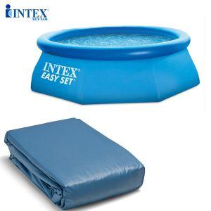 Phụ kiện bạt bể bơi cổ tròn 3m96 (28142, 28143) INTEX 12130