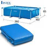 Vỏ bể tròn khung kim loại 28212 (kích thước 3.66mx76cm) INTEX 10616