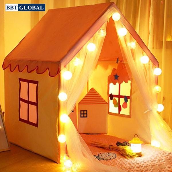 Lều hoàng tử công chúa cho bé có đèn Y208